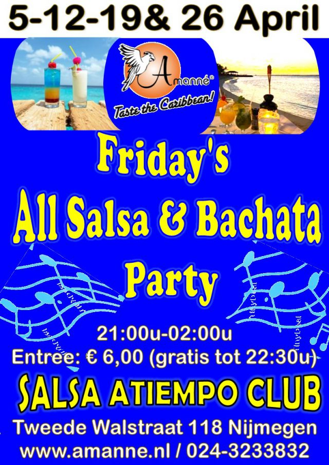Friday's All Salsa & Bachata Party